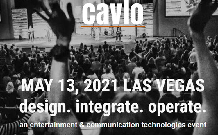 New cavlo Tradeshow Debuts with Touch-Free Registration Process