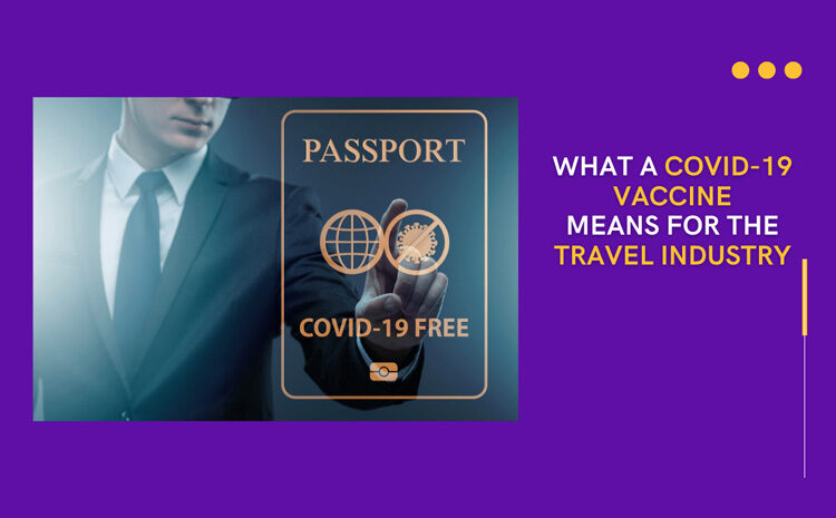 What a COVID-19 Vaccine Means for the Travel Industry